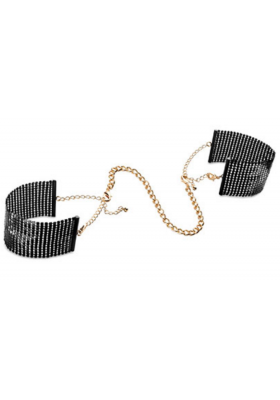 Esposas perladas negras Bijoux