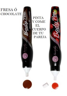 Body Paint lapiz fresa ó chocolate