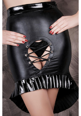 Falda Noir fetiche