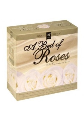 A bed of rosas blancas kit