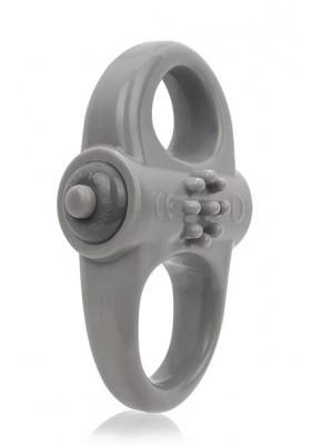 Yogga anillo vibrador gris