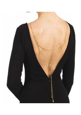 Collar espalda doble cadena Lisey