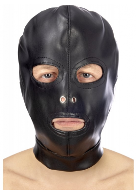 Capucha sumiso aberturas ojos , boca y nariz unisex
