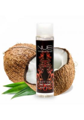 Nuei aceite Coco efecto calor