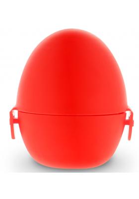 Huevo masturbador texturado reutilizable con carcasa