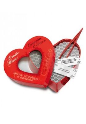Corazón erótico juego