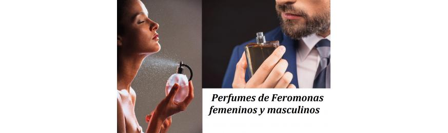 Perfumes de Feromonas femeninos y masculinos